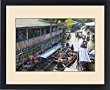 Framed Print of Damnoen Saduak Floating Markets, Bangkok, Thailand, Southeast Asia, Asia