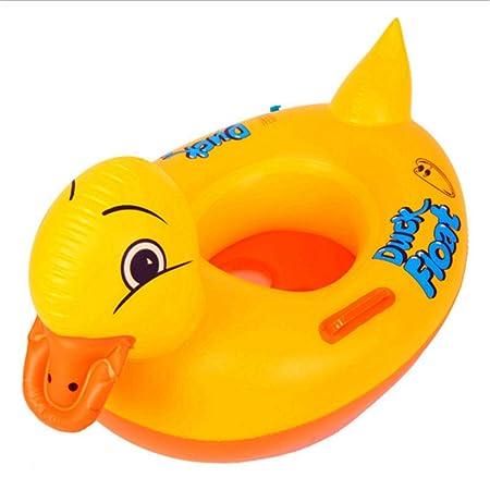 Melodycp - Pato de Goma Hinchable para Piscina, para niños, para ...