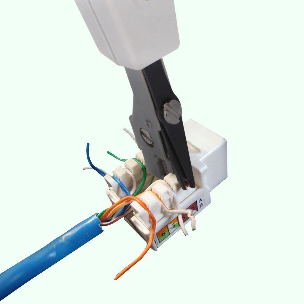 zacro® Wire Tracker - Comprobador de cables, Kabelfinder, alambre de Perseguidor, RJ45/RJ11 Finder para cable telefónico y LAN Cable de prueba de ...