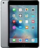 Apple iPad mini 4, 128GB SSD, 2GB RAM, 7.9 inches Retina Display, Dual-Core A8 Chip, Quad Core Graphics, Wifi, MIMO, Bluetooth, 8 MP iSight Camera, 1080p HD Video Recording, Space Gray