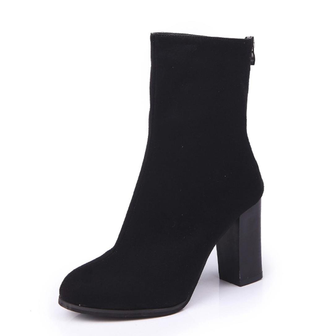 Coloré Femme Boots B07FDHWK3F Chaussures Classiques Chaudes hauts Botte (TM) Bottes à Martin à ressorts avec velcro et bottes à talons hauts Noir 90330c6 - latesttechnology.space