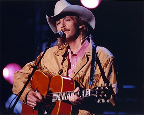 Used, Alan Jackson Playing Guitar in Close Up Portrait Photo for sale  Delivered anywhere in Canada