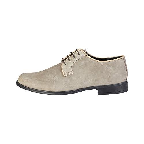 PIERRE CARDIN ALBERIC Derby Zapatos De Encaje Con Cordones Para Hombre NfI7P