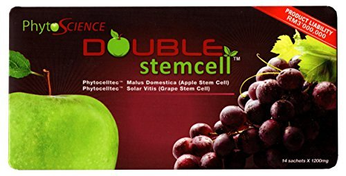 PhytoScience Double stemcell – 8 Pack (112 Sachets) – Beauty Innovations – Best Anti Aging Skin Care by PhytoScience
