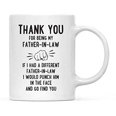 Funny Family 11oz. Regalo de la Taza de café, Gracias por ...