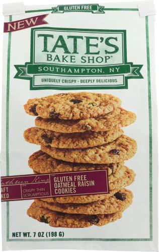 Tates Gluten Free Cookies 3 Flavor Variety Bundle: (1) Tates Chocolate Chip Cookies, (1) Tates...