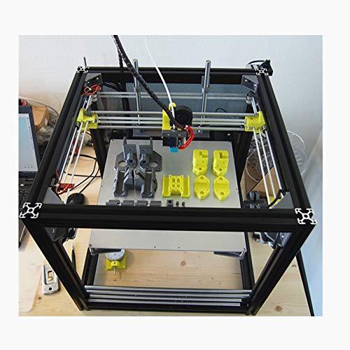 1Set HyperCube Evolution 3D Printer Metal Frame Extrusion for DIY HyperCube 3D Printer X300 x Y300 x Z300 Print Bed Area ()