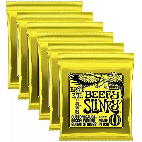 Ernie Ball 2627 Beefy Slinky 11-54 (6 Pack ()