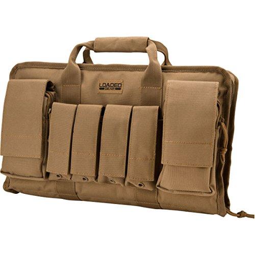Barska Optics BI12314 RX-50 16-Inch Tactical Pistol Bag, Tan
