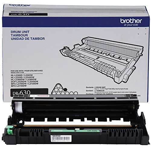 Photoconductor Image Drum - Brother DCP-L2540DW Drum Unit (OEM) made by Brother - Prints 12,000 Pages