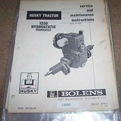 Amazon com : Bolens Eaton 12 Transaxle Hydrostatic Repair
