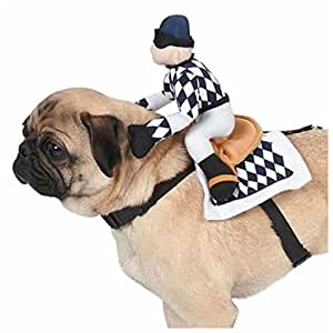 Dog Halloween Costume Harness Show Jockey Pet Dog Harness Zack & Zoey (S)