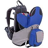 phil&teds Parade Lightweight Backpack Carrier, Blue/Grey