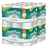 Angel Soft Toilet Paper  48 Double Rolls  Bath Tissue (Pack of 4 with 12 rolls each)