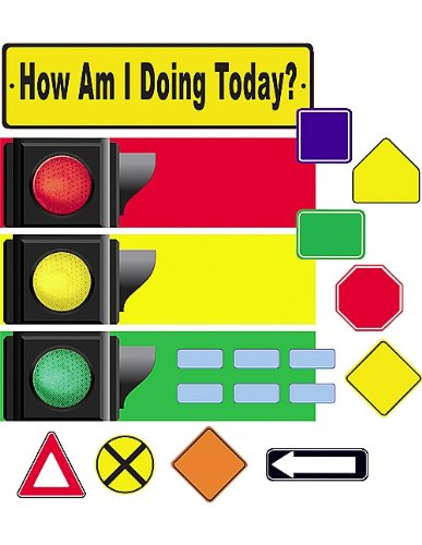 Teacher Created Resources How Am I Doing Today Mini Bulletin Board, Multi Color (4875)