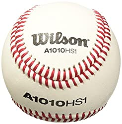 Wilson Sst Hs1 Baseball (12-pack), White