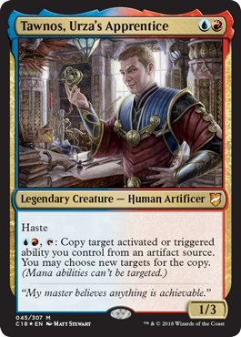Magic: The Gathering - Tawnos, Urza's Apprentice - Foil - Commander ()