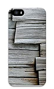 iPhone 5 5S Case Gray Wood302 3D Custom iPhone 5 5S Case Cover