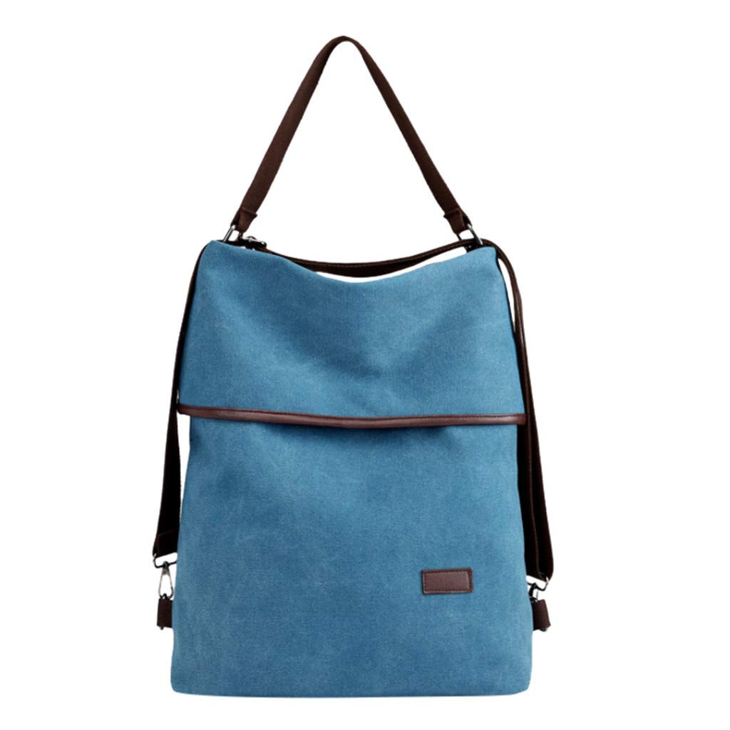 Bags Single Fashion nikunLONG Casual Lightweight Travel School Shoulder Bag Canvas Large Capacity Backpack Travel