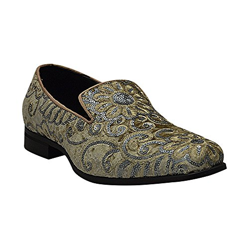 Smokers Gold Size 6734 Mens 8 After Midnight Silver qtnARWqFw