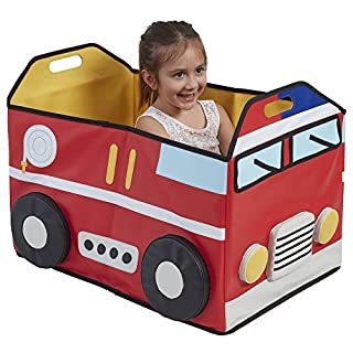 ECR4Kids SoftZone My Safe Space Toy Fire Truck for Kids