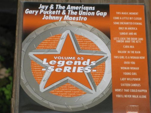 - LEGENDS Karaoke CDG Vol.65 JAY and THE AMERICANS, GARY PUCKETT and THE UNION GAP, JOHNNY MAESTRO