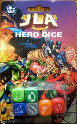 JLA Hero Dice (DC Universe Roleplaying Game) (Justice League Dice)