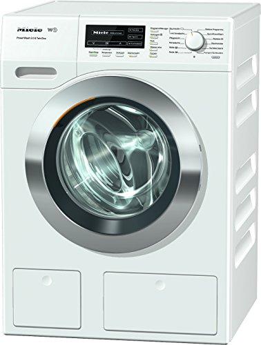 Miele WKH131WPS D LW PWash 2.0 und TDos Waschmaschine FL / A+++ / 137 kWh / Jahr / 1600 UpM / 8 kg / Schneller sauber geht es nicht - QuickPowerWash / Bestes Flüssigwaschmittel auf Knopfdruck / weiß