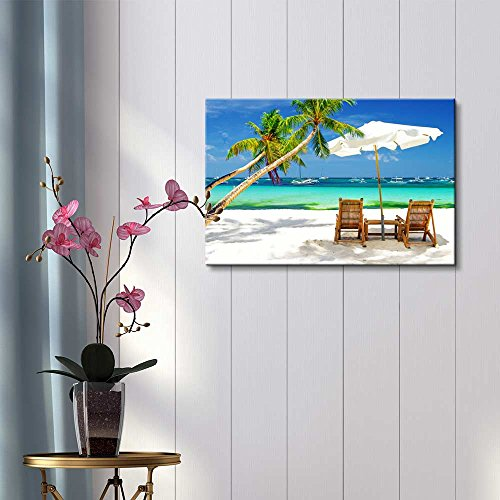 Tropical Vacation at The Beach Wall Decor