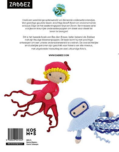 Octopus Crochet Pattern PDF Instant Download Claude | Etsy | 500x391
