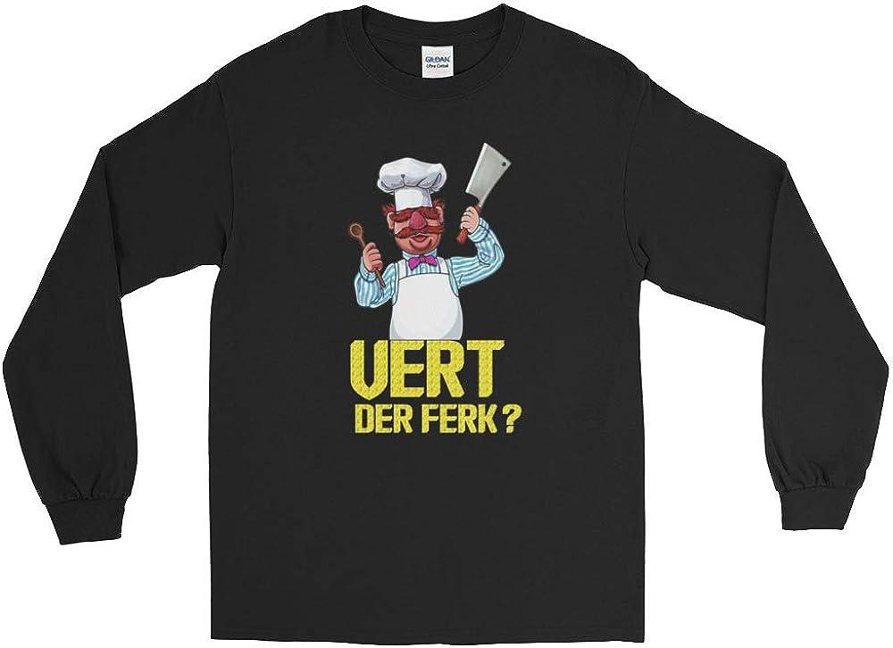 Vert Der Ferk The Swedish Chef Long Sleeve T-Shirt