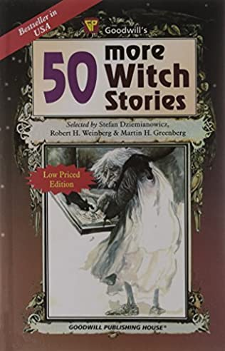 book cover of 50 More Witch Stories