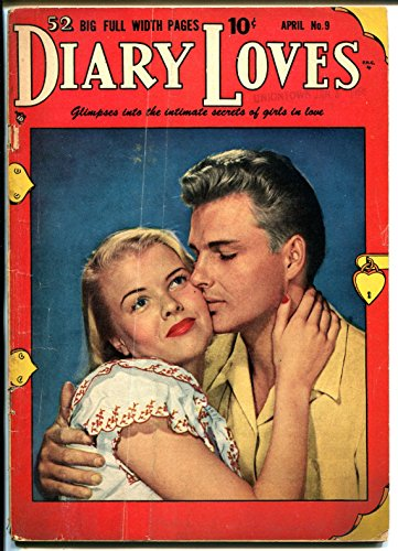 - Diary Loves #9 1951-Quality-Bill Ward art-photo cover-nice poses-VG-