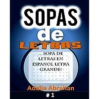 Sopas de Letras: Sopa de Letras En Espanol Letra Grande!