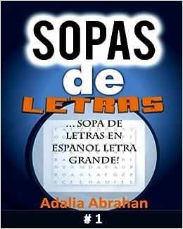 Sopas De Letras Sopa De Letras En Espanol Letra Grande Amazonde