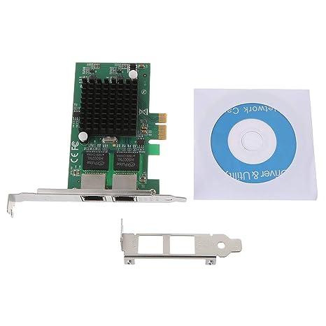 chuxioner PCI Express 10/100/1000 Mbps Adaptador de Servidor ...