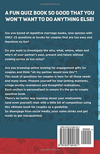 The Quirky Quiz Book for Couples: How Well Do You Really Know Your