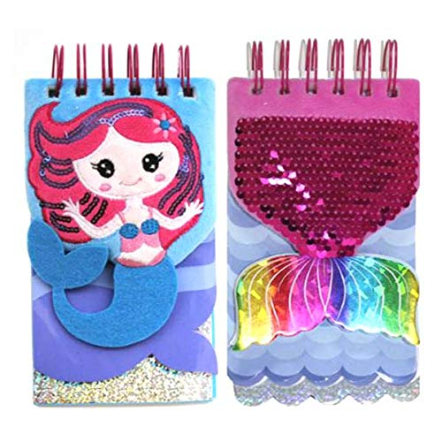 Inkology Marmaid & Tail Memo Pad PDQ, Case of 8