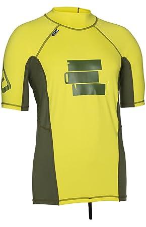 Weiterer Wassersport RASHGUARD UV-Shirt ION Kurzarm yellow