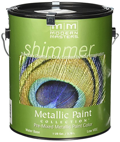 Collection Modern (Modern Masters ME221-GAL Metallic Paint, Warm Silver)