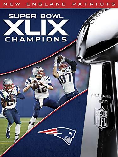 NFL Super Bowl XLIX Champions New England Patriots