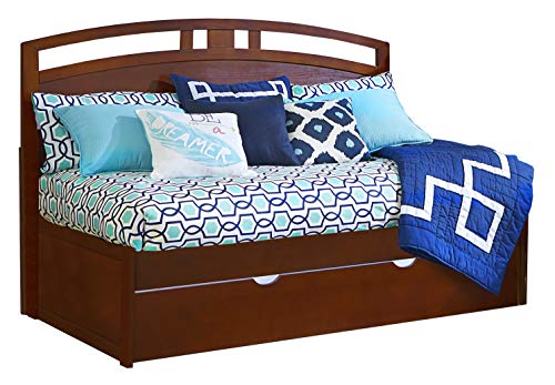 Cherry Daybed Trundle (Hillsdale Furniture 31024NDBT Hillsdale Kids and Teen Pulse Arch Twin, Cherry Daybed with Trundle)