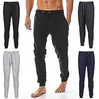 Iron Mountain Mens teruggewonnen garen Eco Vriendschappelijke Anti Pil Flexibele Comfortabele Jog Sweat Pant broek