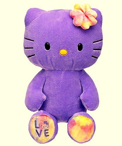 Build a Bear Hello Kitty LTD Limited Edition Sanrio 18 in. Purple Stuffed Plush Toy Doll Animal (Hello Kitty Build A Bear)