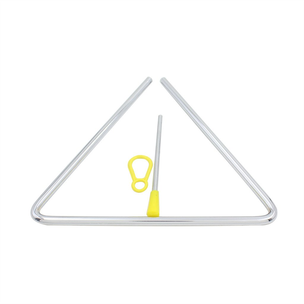 8 Musical Triangle & Beater Percussion Metal Instrument Music School Toy Generic CT0557000916