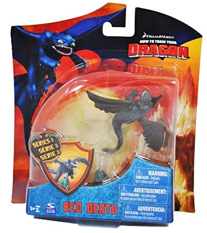 Amazon how to train your dragon movie 4 inch series 3 action how to train your dragon movie 4 inch series 3 action figure red death ccuart Images