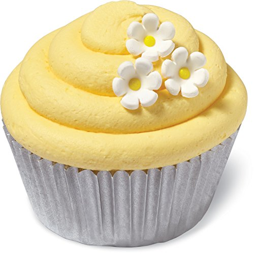 Wilton 710-7000 32 Count Daisy Mini Icing Decorations, Assorted Cake Decorating Decorations