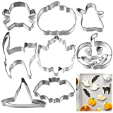 Cookie Cutter Cake Biscuit Moulds Stainless Steel Fondant Icing Mold DIY Baking Tools (Halloween)
