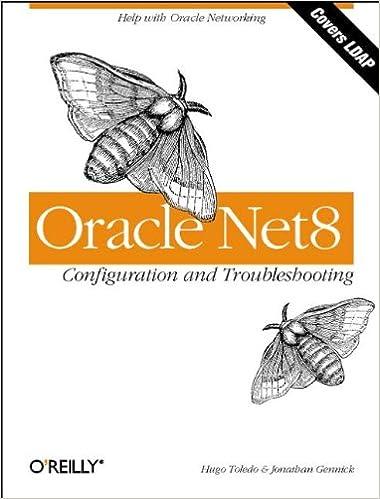 Oracle Net8 Configuration and Troubleshooting: Hugo Toledo