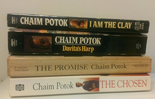(4 BOOK SET: The Promise, Davita's Harp, The Chosen & I Am The)